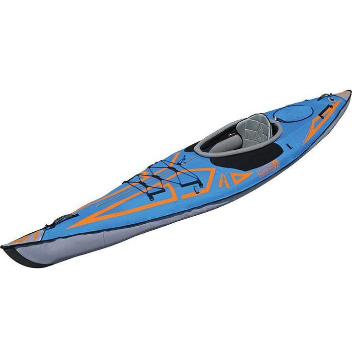 Inflatable Kayak - Advancedframe Expedition Elite Inflatable 1 Person Kayak: AE1009-XE