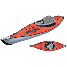 Inflatable Kayak - Advancedframe Inflatable 1 Person Kayak: AE1012-R