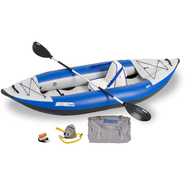 Inflatable Kayak - SeaEagle Explorer 300x Inflatable 1 Person Whitewater Kayak