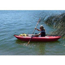 Inflatable Kayak - Twist N 1 Person Inflatable Kayak By Innova Foot Pump & Paddle Bundle