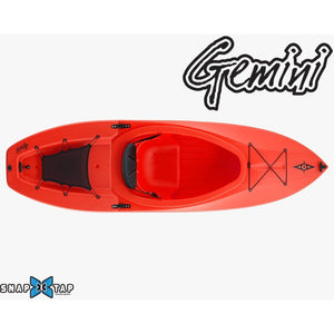 Modular Kayak - Point65 Gemini GT Modular Sit Inside 1 Person Portable Kayak