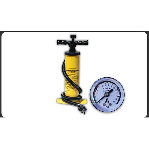 Pump - DOUBLE-ACTION HAND PUMP WITH PRESSURE GAUGE