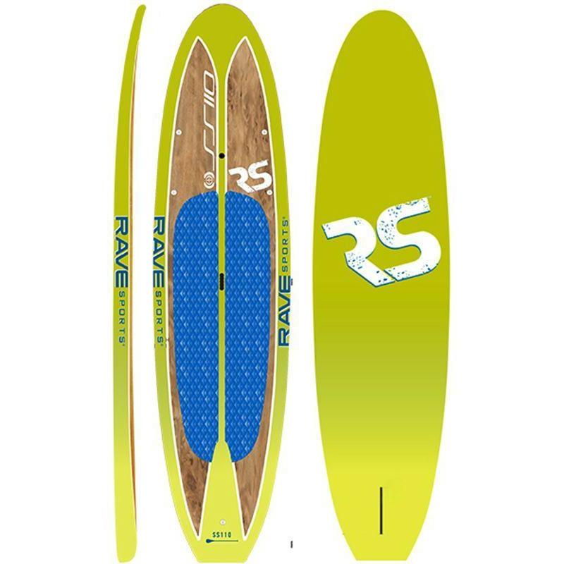 SUP Boards - RaveSports Shoreline SUP Stand Up Paddle Board - Key Lime