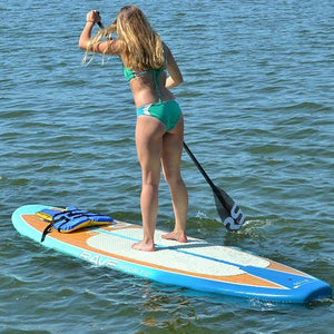 SUP Boards - RaveSports Shoreline SUP Stand Up Paddle Board - Plum Wine