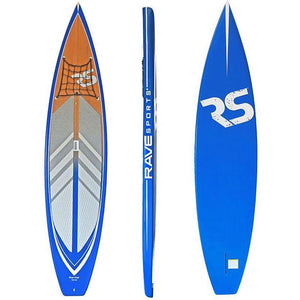 "SUP Boards - RaveSports Touring 11'6"" SUP Stand Up Paddle Board - Blue"