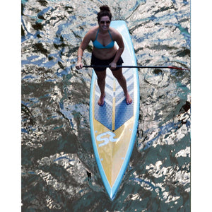 "SUP Boards - RaveSports Touring 11'6"" SUP Stand Up Paddle Board - Pewter Blue"