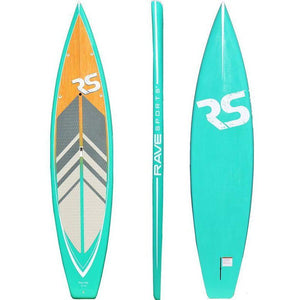 "SUP Boards - RaveSports Touring 11'6"" SUP Stand Up Paddle Board - Seabreeze"
