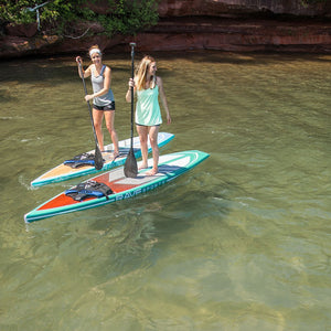 "SUP Boards - RaveSports Touring 12'6"" SUP Stand Up Paddle Board - Emerald"