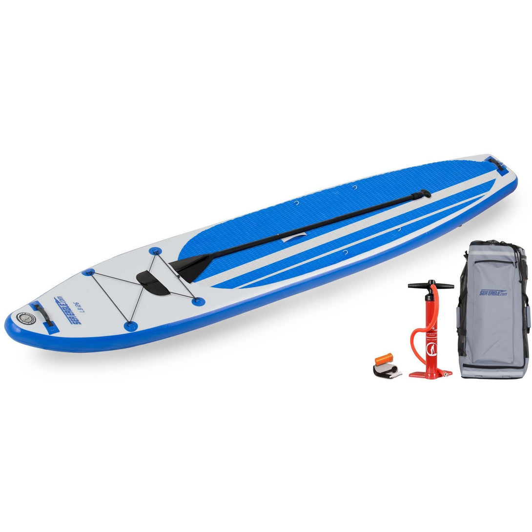 SUP Boards - SeaEagle LongBoard 126 Inflatable SUP Stand Up Paddle Board
