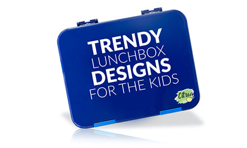 Trendy lunchbox designs for the kids