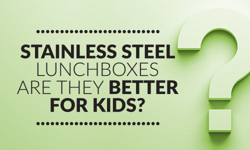 Stainless steel lunchboxes: Are they better for kids?