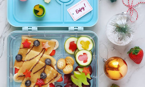 CREPES WITH BERRIES - Cars 4 Compartment Lunch Box