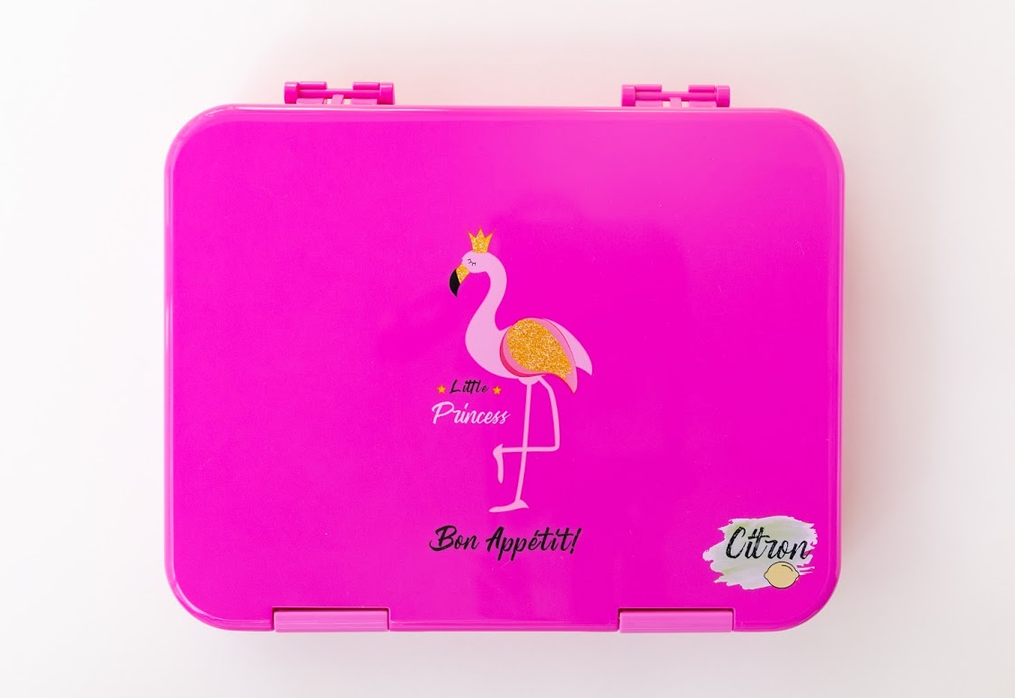 Citron Flamingo lunch box