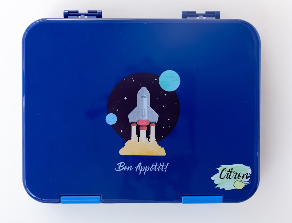Citron Spaceship lunch box