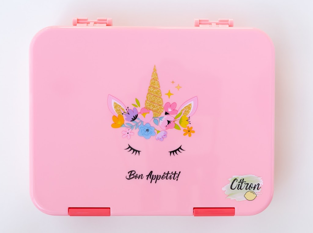 Citron Unicorn lunch box