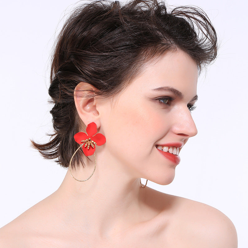 Beautiful Floral Earrings