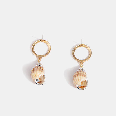 Unique Shell Drop Earrings