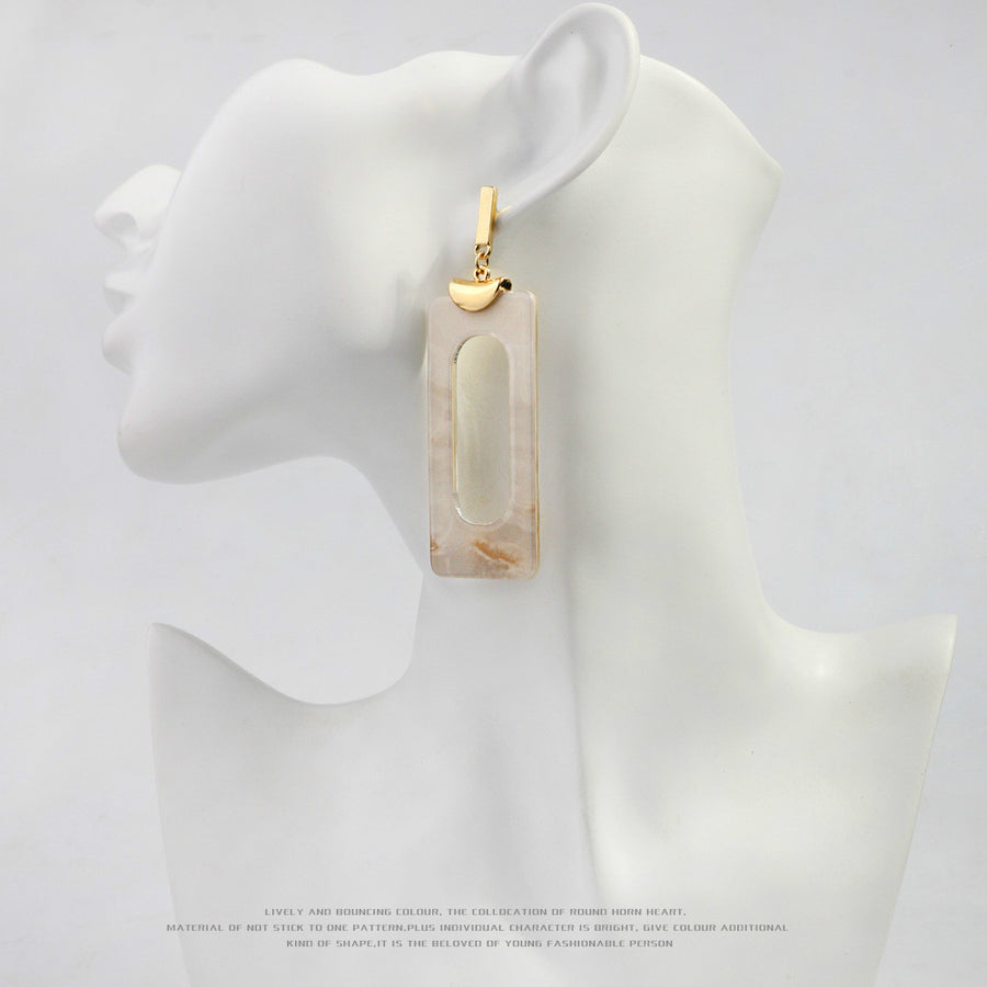 Acetate Drop Earrings