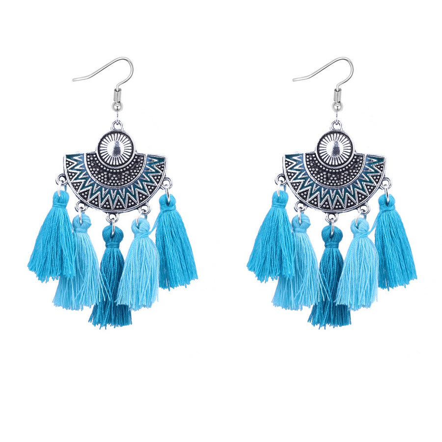Retro Long Tassel Earring