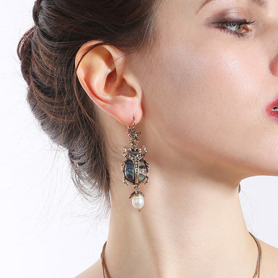 Unqiue Retro Insect Drop Earrings