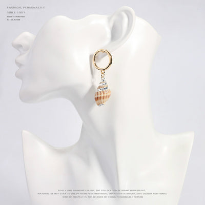 Unique Shell Earrings