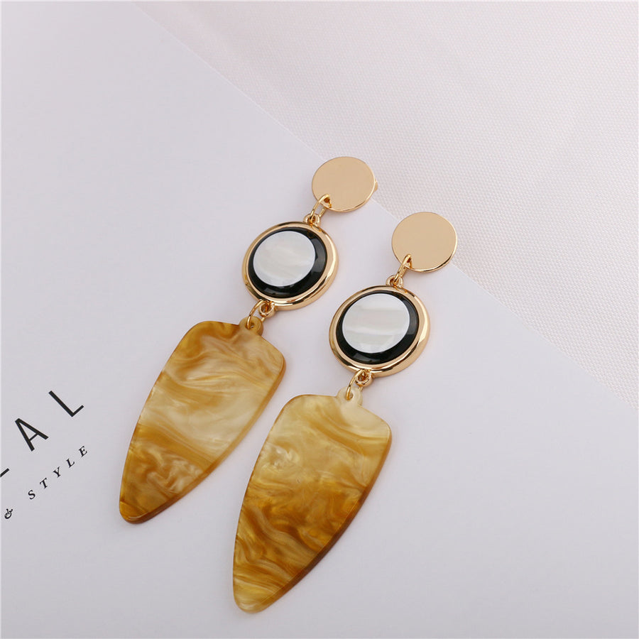 Elegant Acrylic Drop Earrings