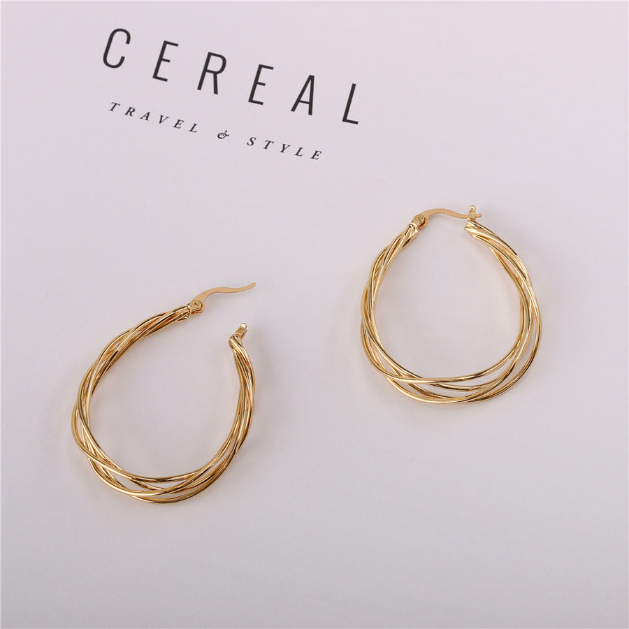 Unique Winding Earrings