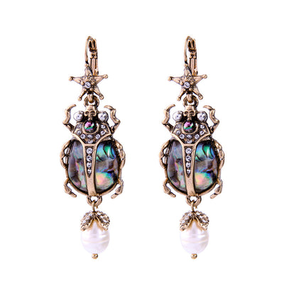 Unqiue Retro Insect Statement Earrings