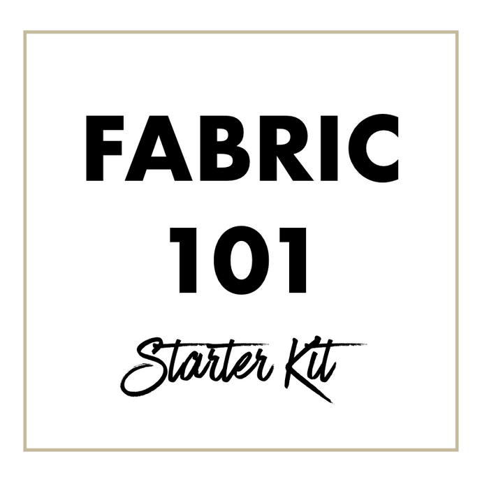 NEW!  Fabric Fix Starter Kit.  Learn Your Textiles!