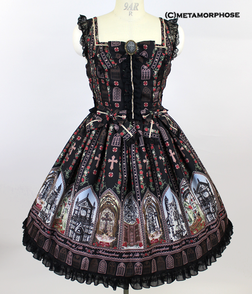 Rose Palace Ribbon Dress