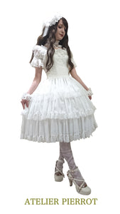 Fairy Corset Dress (white)