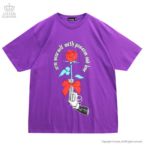 Rose and Pistol BIG T-shirt