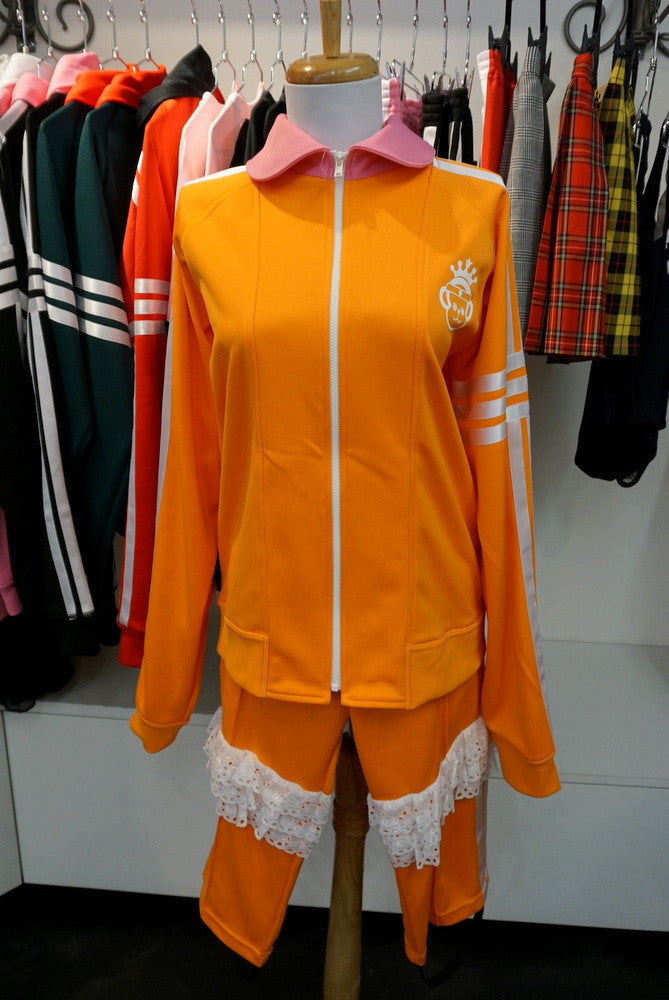 Zip up Jersey Top