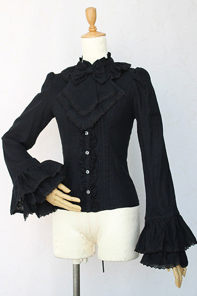 Corruption gauze lace blouse
