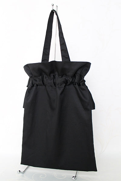 Water Proof Frill Ribbon Tote
