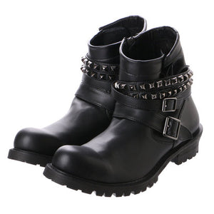 Studded Engineer Boots 3300039