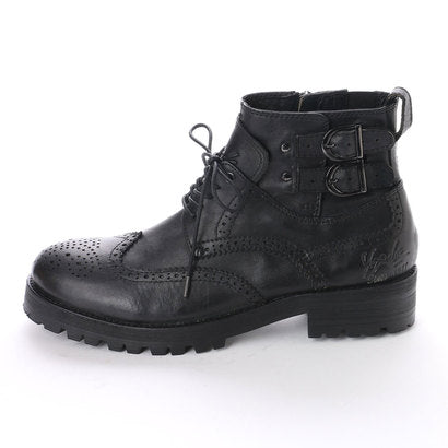 Men's Platform Lace-up Boots 3300043