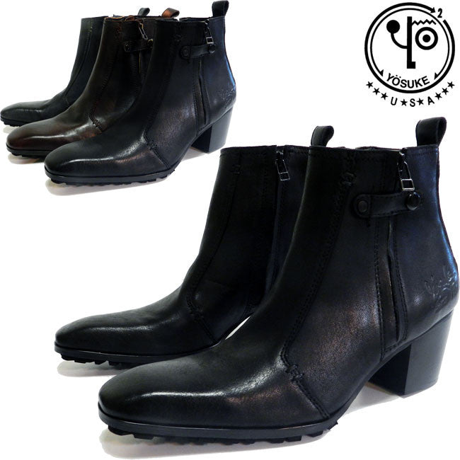 Men's Platform Leather Boots 3300029