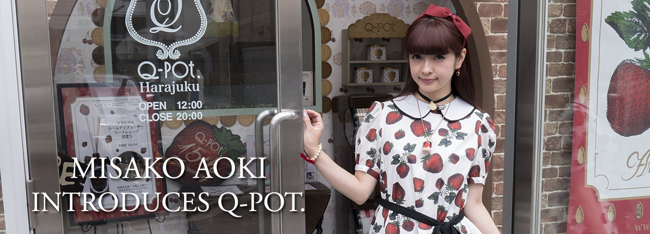 Misako Aoki introduces the Q-Pot. brand to our customers!