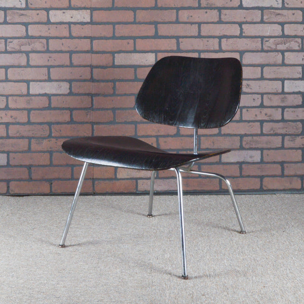Eames Vintage 1st Edition LCM Plywood Lounge Chair Manufactured by Evans - Ebony