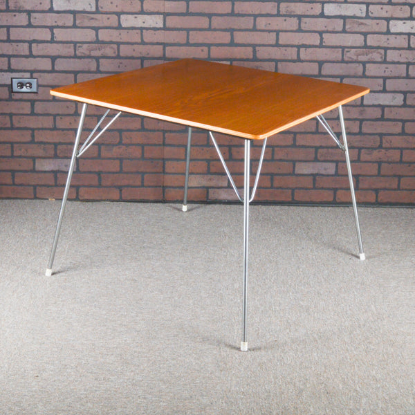 Eames DTM Table 1st Edition Manufactured by Evans Plywood - Oak