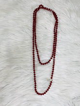 Double-Wrap Beaded Necklace