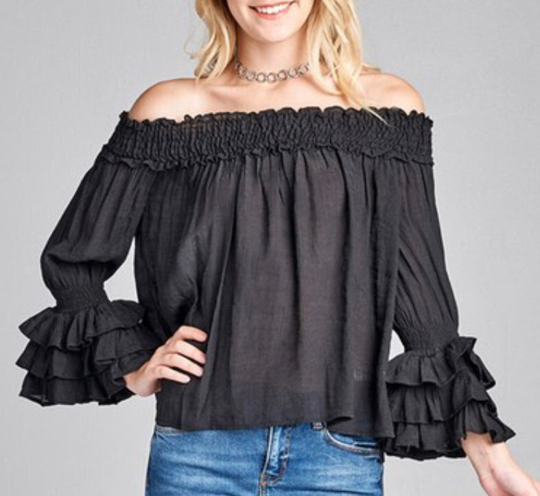The Lucy Bell Top