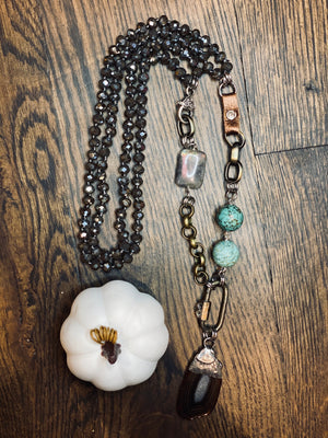 Turquoise Rodeo Necklace