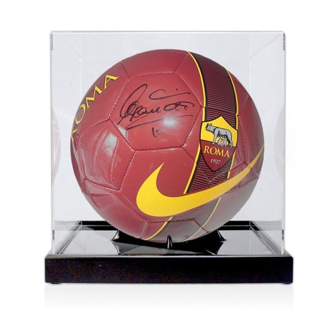 Ballon AS Roma Dédicacé par <b>Francesco Totti</b>