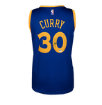 Maillot Domicile NBA Golden State Warriors Dédicacé par <b>Steph Curry</b>
