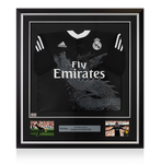 Maillot Third Real Madrid CF 2014-15 Dédicacé par <b>James Rodriguez</b>