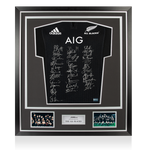 Maillot All Blacks 2017 Dédicacé par les <b>All-Blacks</b>