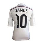 Maillot Domicile Real Madrid CF 2014-15 Dédicacé par <b>James Rodriguez</b>