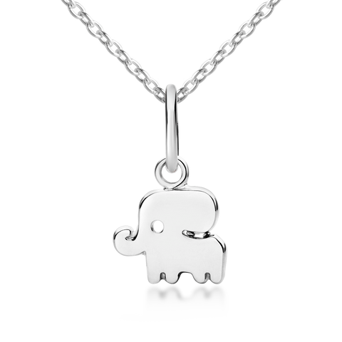 Elephant necklace for tweens and teens